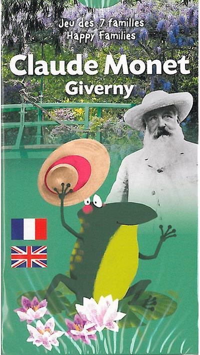 Jeu des 7 familles : Claude Monet et Giverny
