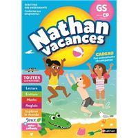 Cahier de Vacances Maternelle GS vers CP 5/6 ans
