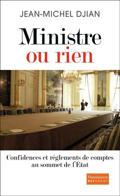 Ministre ou rien