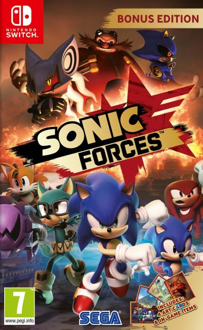 Sonic Forces Edition Bonus Nintendo Switch