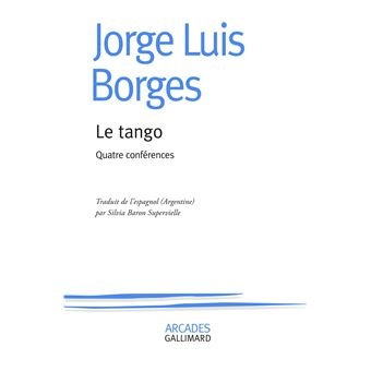Le tango quatre conferences