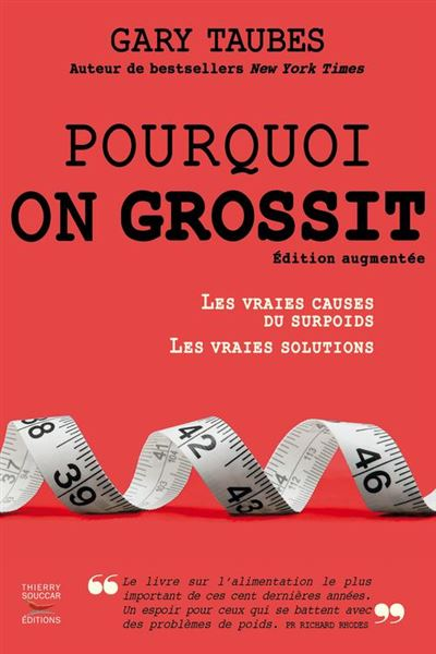 Pourquoi on grossit - 9782365492492 - 13,99 €