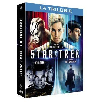 Star TrekCoffret Star Trek L'intégrale 1 à 3 Blu-ray