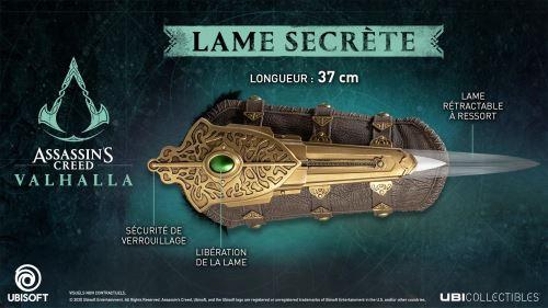 Figurine Assassin's Creed Valhala Lame secrète d'Eivor