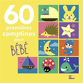 60 1ERES COMPTINES POUR BEBE