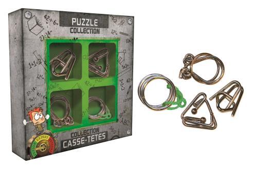 Collection casse-têtes métal Junior Gigamic