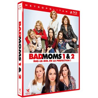Bad MomsCoffret Bad Moms 1 et 2 Blu-ray