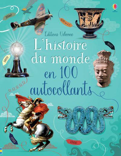 L'histoire du monde en 100 autocollants