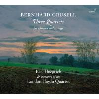 Three Quartets for clarinet and strings Digipack