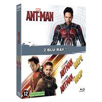 Coffret Ant-Man 1 et 2 Blu-ray