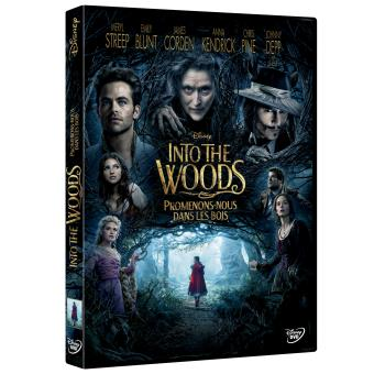 Into the woods, Promenons nous dans les bois DVD