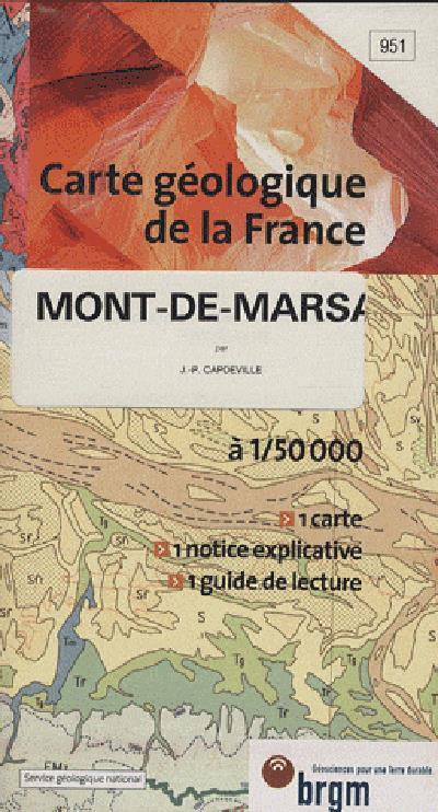 0951 c.geol.1/50 mont-de-marsa