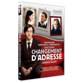 Changement d'adresse DVD