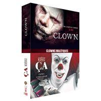 Coffret Clowns maléfiques DVD