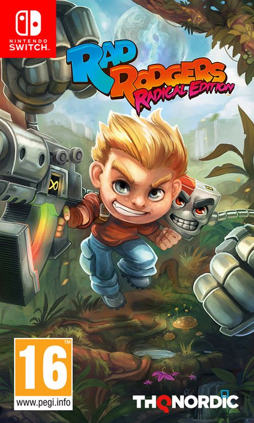 Rad Rodgers Radical Edition Nintendo Switch