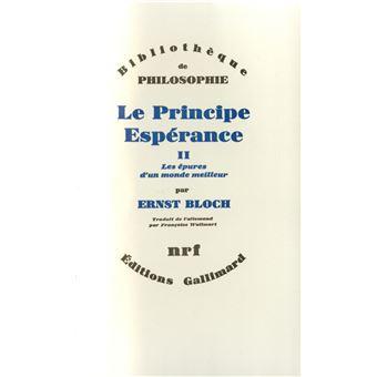 Le principe esperance