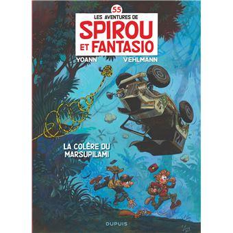 Spirou et FantasioLa colère du Marsupilami