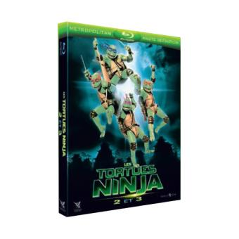 Les Tortues NinjaCoffret Les Tortues Ninjas Blu-ray