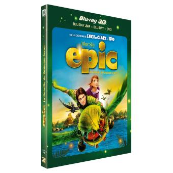 Epic La bataille du Royaume secret Combo Blu-ray 3D + 2D + DVD