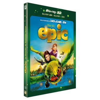 Epic La bataille du Royaume secret Combo Blu-ray 3D + 2D + DVD