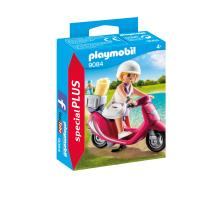 Playmobil Special Plus 9084 Vacancier met scooter