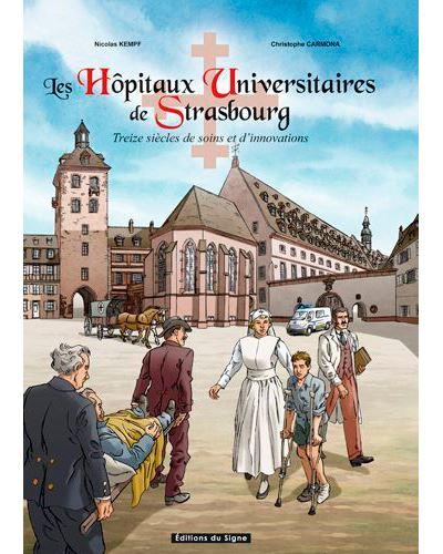 Les hopitaux universitaires de Strasbourg en bd