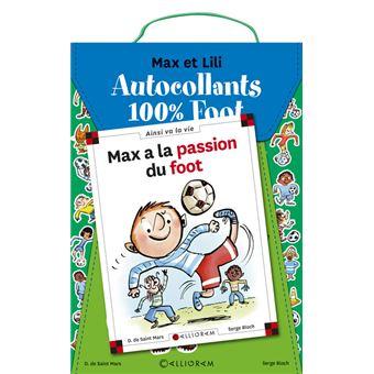 Max et LiliKit foot Max et Lili Pochette stickers + Max foot coupe du monde 2018