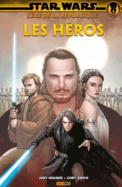 Star Wars : L'ère de la République - Les héros - 9782809484113 - 11,99 €