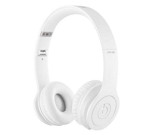 casque beats solo hd by dr dre monochromatic white casque filaire achat prix fnac. Black Bedroom Furniture Sets. Home Design Ideas