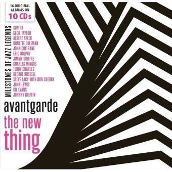 Milestones of Jazz Legends : Avantgarde the new thing Coffret