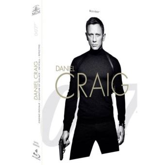 James BondCoffret Daniel Craig La Collection James Bond 007 4 Films Blu-ray