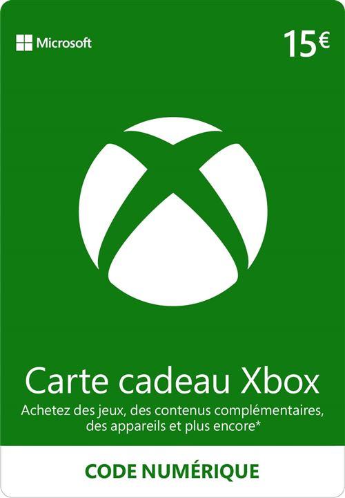 Code de téléchargement Xbox Live e-carte cadeau monnaie virtuelle 15