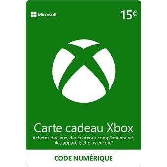 Carte Cadeau Xbox Gratuit Sans Verification.Code De Telechargement Xbox Live E Carte Cadeau Monnaie Virtuelle 15