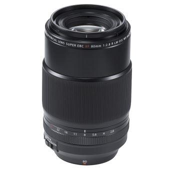 Téléobjectif Fujifilm XF 80 mm f/2,8 R L OIS WR Macro Noir