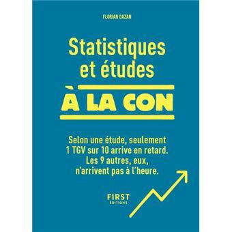 Statistiques et études à la con