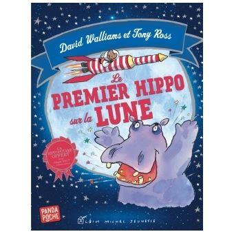 Le Premier Hippo sur la lune