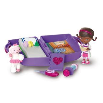 Mini malette doc et accessoires docteur la peluche univers miniature achat prix fnac - Docteur la peluche malette ...