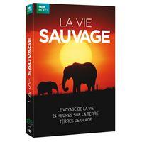 Coffret La vie sauvage DVD