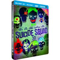 Suicide Squad Steelbook Blu-Ray 3D+ 2D
