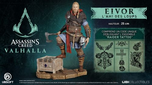Figurine Assassin's Creed Valhalla Eivor L'ami des loups