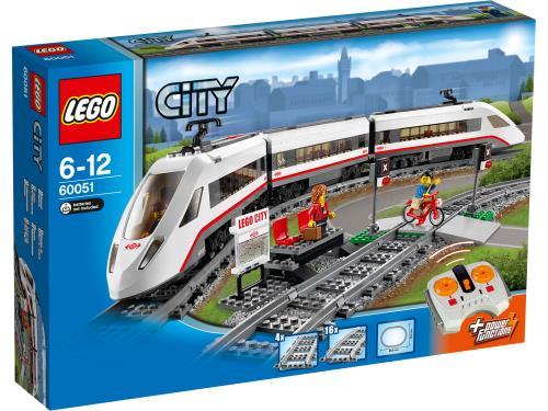 LEGO® City 60051 Le train de passagers à grande vitesse