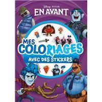 Mes coloriages avec stickers