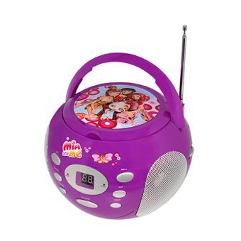 Boombox Radio et Lecteur CD Teknofun Mia et Moi