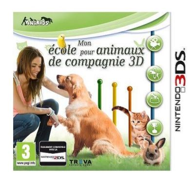 Mon école pour animaux de compagnie Nintendo 3DS