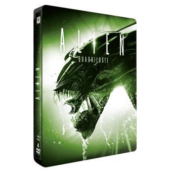 AlienCoffret Alien La Quadrilogie Steelbook Edition Limitée DVD