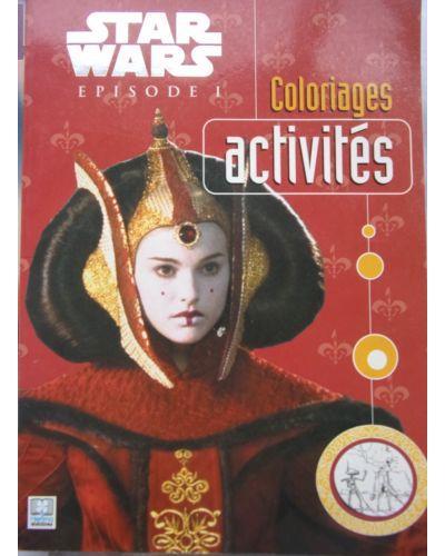 STAR WARS EPISODE 1. Coloriages et activités