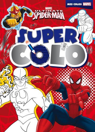 Ultimate spiderman, super colo