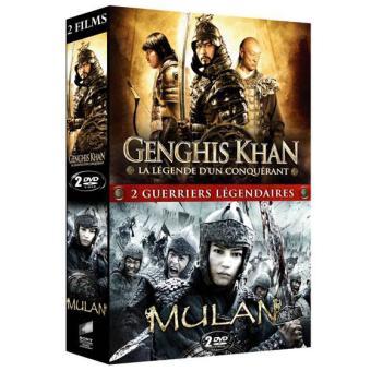 Genghis Khan - Mulan Coffret 2 DVD