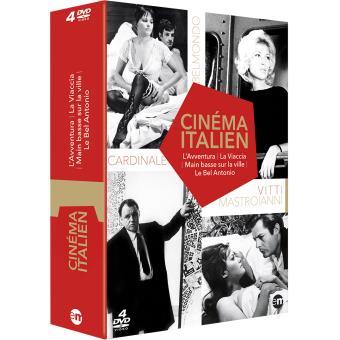 Coffret Cinéma italien 4 films DVD