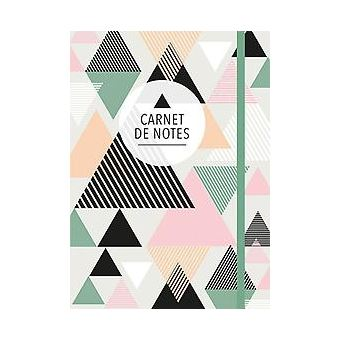 CARNET DE NOTES (GRAND) - TRIANGLES